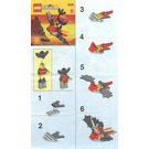 LEGO Flying Machine Set 2539 Instructions