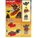 LEGO Flying Machine Set 2848 Instructions