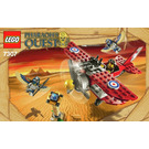 LEGO Flying Mummy Attack Set 7307 Instructions