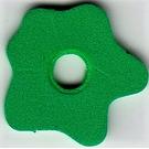 LEGO Foam Part Scala Flower Medium 4 x 4 with Center Hole