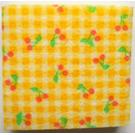 LEGO Foam Scala Cushion 7 x 7 with Cherries
