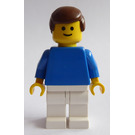 LEGO Football Player White and Blue Team with Standard Grin Minifigure