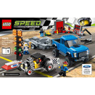 LEGO Ford F-150 Raptor & Ford Model A Hot Rod Set 75875 Instructions