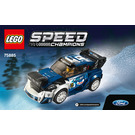LEGO Ford Fiesta M-Sport WRC Set 75885 Instructions