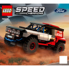 LEGO Ford GT Heritage Edition and Bronco R Set 76905 Instructions