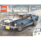 LEGO Ford Mustang Set 10265 Instructions