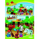 LEGO Forest: Animals Set 10582 Instructions