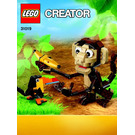LEGO Forest Animals Set 31019 Instructions