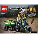 LEGO Forest Harvester Set 42080 Instructions