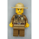 LEGO Forest Police Officer with Dark Tan Legs Minifigure