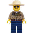 LEGO Forest Policeman with Radio and Hat Minifigure