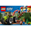 LEGO Forest Tractor Set 60181 Instructions