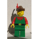 LEGO Forestman Red Castle Minifigure