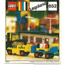 LEGO Fork Lift Truck and Trailer Set 652 Instructions