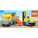 LEGO Forklift and Truck Set 674