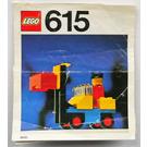 LEGO Forklift Set 615-2 Instructions