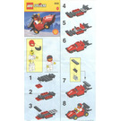 LEGO Formula 1 Racing Car Set 2535 Instructions