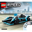 LEGO Formula E Panasonic Jaguar Racing GEN2 Car & Jaguar I-PACE eTROPHY Set 76898 Instructions