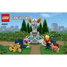 LEGO Fountain Set 40221 Instructions