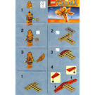 LEGO Frax' Phoenix Flyer Set 30264 Instructions