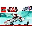 LEGO Freeco Speeder Set 8085 Instructions