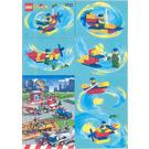 LEGO Freestyle Contraption Set 3233 Instructions