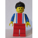 LEGO Freestyle with Vertical Lines and Black Ponytail Minifigure