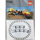 LEGO Freight Train Set 7735 Instructions