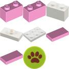 LEGO Friends Advent Calendar Set 3316-1 Subset Day 11 - Present for Dog