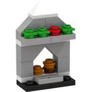 LEGO Friends Advent Calendar Set 3316 Subset Day 21 - Fireplace