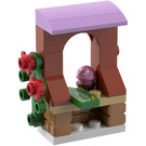 LEGO Friends Advent Calendar Set 41102-1 Subset Day 13 - Stand with Cupcake