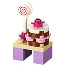 LEGO Friends Advent Calendar Set 41102-1 Subset Day 16 - Table with Sweets