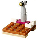 LEGO Friends Advent Calendar Set 41102-1 Subset Day 7 - Stage with Microphone