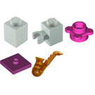 LEGO Friends Advent Calendar Set 41102-1 Subset Day 9 - Saxophone and Stand