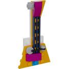LEGO Friends Advent Calendar Set 41353-1 Subset Day 2 - Tree Ornament 'Electric Guitar'