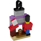 LEGO Friends Advent Calendar Set 41353-1 Subset Day 4 - Tree Ornament 'Fireplace with Decoration'