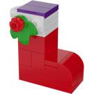 LEGO Friends Advent Calendar Set 41353-1 Subset Day 6 - Tree Ornament 'Santa's Stocking'