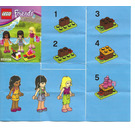 LEGO Friends Mini-Doll Campsite Set 853556 Instructions