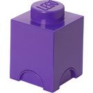LEGO Friends Storage Brick 1 Medium Lilac (5004274)