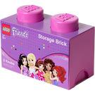 LEGO Friends Storage Brick 2 Bright Purple (5004273)