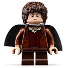 LEGO Frodo Baggins with Dark Stone Gray Cape Minifigure