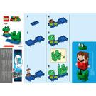 LEGO Frog Mario Power-Up Pack Set 71392 Instructions