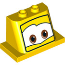 LEGO Front 2 x 4 x 3 with 2 Knobs (32928)