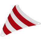 LEGO Front Sail with Red Stripes (155 x 135 mm) (19934)