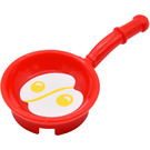 LEGO Frying Pan with Fried Eggs Sticker from Set 41034