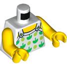 LEGO Fun at the Beach Girl Minifig Torso (973 / 76382)
