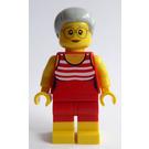 LEGO Fun at the Beach Grandma Minifigure