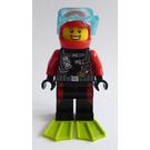 LEGO Fun at the Beach Scuba Diver Minifigure