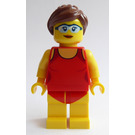LEGO Fun at the Beach Volleyball Player Woman Minifigure