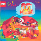 LEGO Fun Fashion Boutique Set 3118 Instructions